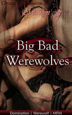 cover design for the book entitled Big Bad Werewolves