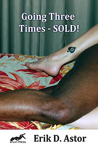 cover design for the book entitled Going Three Times-SOLD!