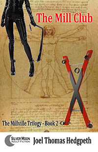 cover design for the book entitled THE MILL CLUB