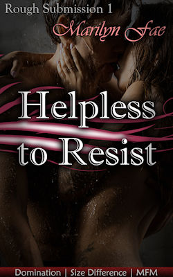 cover design for the book entitled Helpless to Resist