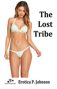 cover design for the book entitled The Lost Tribe