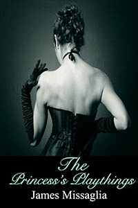 cover design for the book entitled The Princess
