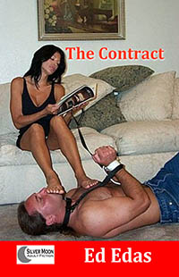 cover design for the book entitled The Contract