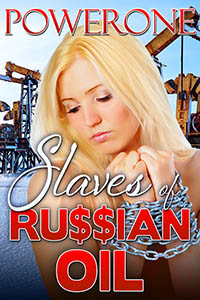cover design for the book entitled Slaves of Ru$$ian Oil