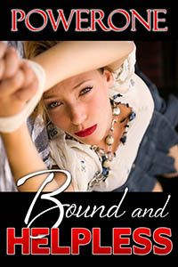 cover design for the book entitled Bound and Helpless