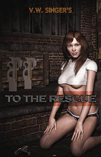 cover design for the book entitled To The Rescue