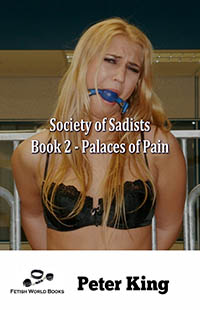 cover design for the book entitled Society of Sadists Book 2 - Palaces of Pain