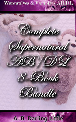 cover design for the book entitled Complete Supernatural AB/DL 8-Book Bundle
