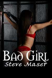 cover design for the book entitled Bad Girl