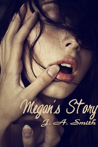 cover design for the book entitled Megan