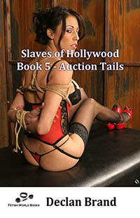 cover design for the book entitled Slaves of Hollywood 5 - Auction Tails