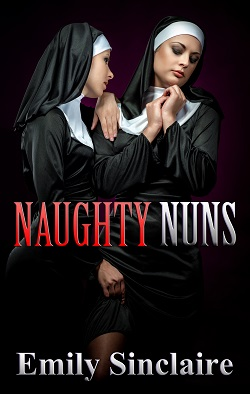 cover design for the book entitled Naughty Nuns