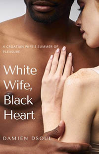 cover design for the book entitled White Wife, Black Heart