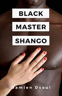 cover design for the book entitled Black Master Shango