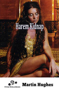 cover design for the book entitled Harem Kidnap