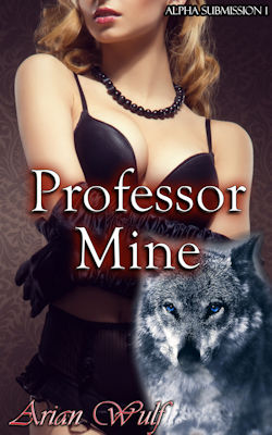 cover design for the book entitled Professor Mine