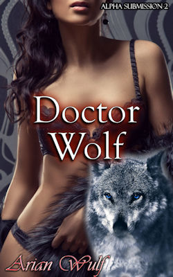 cover design for the book entitled Doctor Wolf