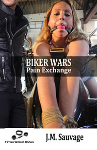 cover design for the book entitled Biker Wars: Pain Exchange