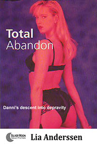 cover design for the book entitled Total Abandon