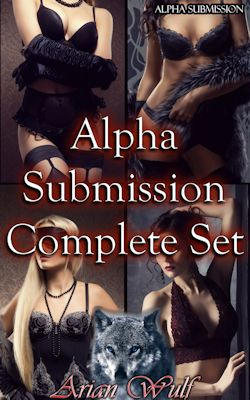 cover design for the book entitled Alpha Submission Complete Set