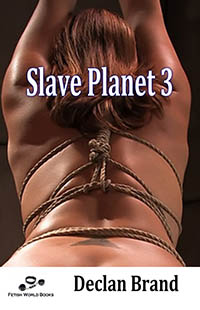 cover design for the book entitled Slave Planet III