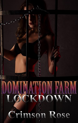 cover design for the book entitled Domination Farm: Lockdown