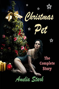 cover design for the book entitled Christmas Pet
