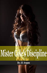 cover design for the book entitled Mister Cole