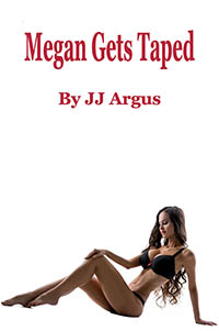 cover design for the book entitled Megan Gets Taped