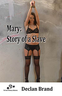 cover design for the book entitled MARY:STORY OF A SLAVE