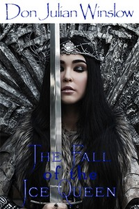 cover design for the book entitled The Fall of the Ice Queen