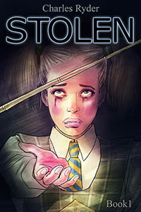 cover design for the book entitled STOLEN