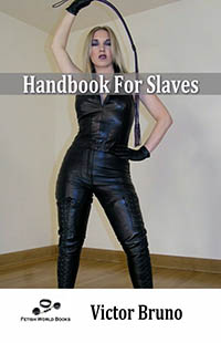 cover design for the book entitled Handbook For Slaves