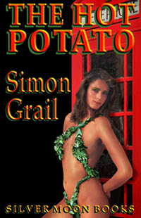 cover design for the book entitled The Hot Potato