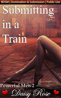 cover design for the book entitled Submitting In A Train