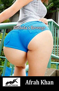 cover design for the book entitled Rashida