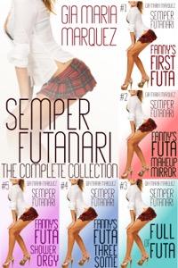 cover design for the book entitled Semper Futanari