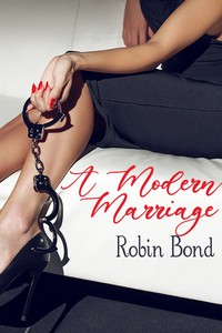 cover design for the book entitled A Modern Marriage
