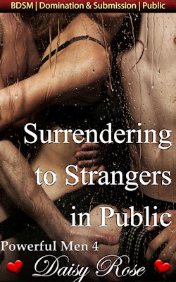 cover design for the book entitled Surrendering to Strangers in Public