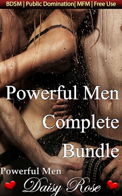 cover design for the book entitled Powerful Men Complete Bundle