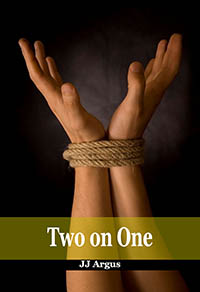 cover design for the book entitled Two on One