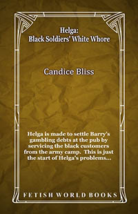 cover design for the book entitled Helga: Black Soldiers