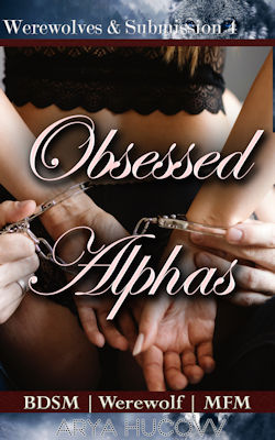 cover design for the book entitled Obsessed Alphas