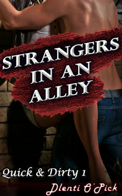 cover design for the book entitled Strangers In An Alley