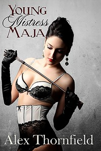 cover design for the book entitled Young Mistress Maja