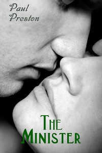 cover design for the book entitled The Minister