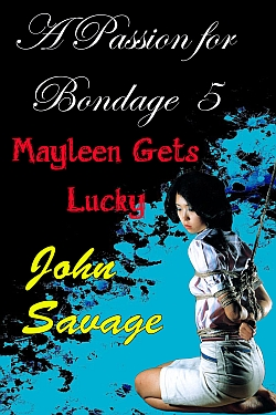 cover design for the book entitled A Passion for Bondage 5
