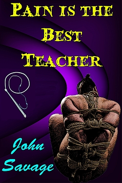 cover design for the book entitled Pain is the Best Teacher