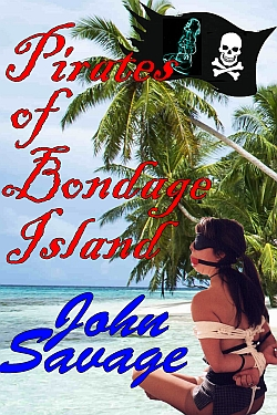 cover design for the book entitled Pirates of Bondage Island