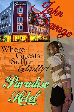 cover design for the book entitled Paradise Hotel